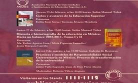 La ANUIES presente en la XXXVIII Feria Internacional del Libro del Palacio de Miner�a